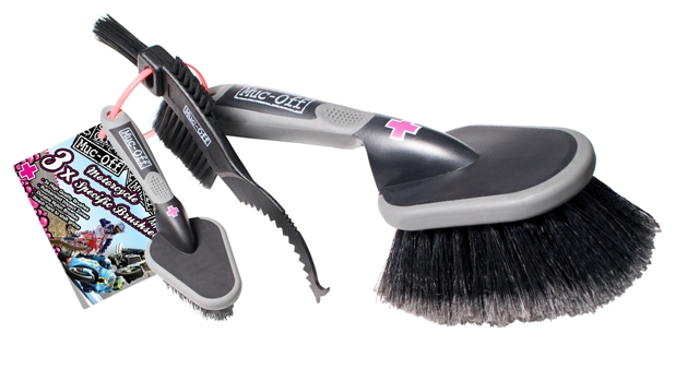 3x Brush Set